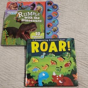 Lot of 2 - Dinosaur Book Bundle